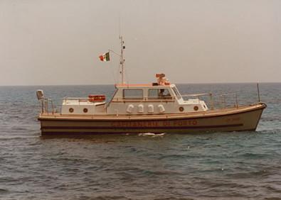 Storia delle Motovedette Capitaneria di Porto tipo Nelson CP 2032