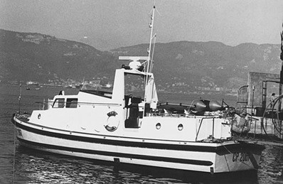 Storia delle Motovedette Capitaneria di Porto tipo NelsonCP 2067