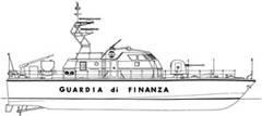Guardia di Finanza motovedetta