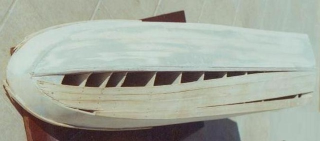 Fasciame dello scafo modellismo nautico