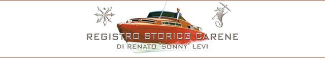 "Registro storico carene di Renato ""Sonny"" Levi"