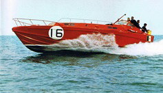 Barca Classica Ultima Dea Navaltecnica 1962