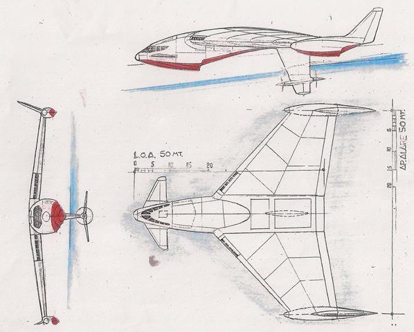 Ekranoplano russo F. Harrauer
