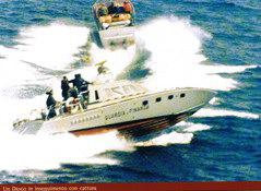 Drago GdF - Inseguimento e cattura