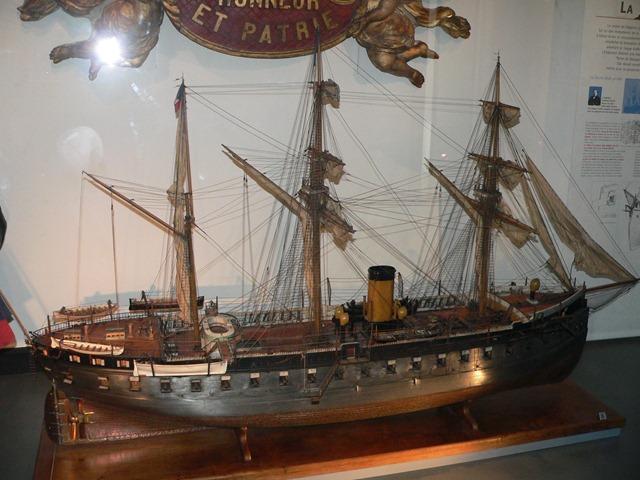 MuseeMarine_Corazzata La Gloire 1880