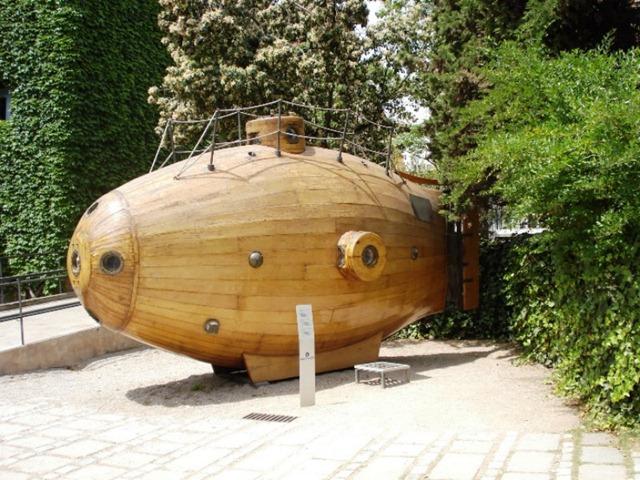 Sommergibile Ictineo I - Museo di Barcellona