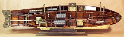 Modellino Sommergibile Ictineo II – Museo di Barcellona