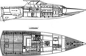 Corsara barca Levi