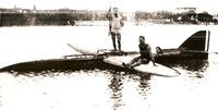 Piaggio P7 galleggiante