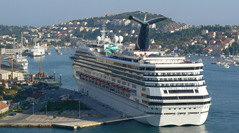 Porto Dubrovnik -Sbarco navi da crociera
