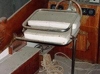 Recupero barca classica e d'epoca; Canav Settimo Velo