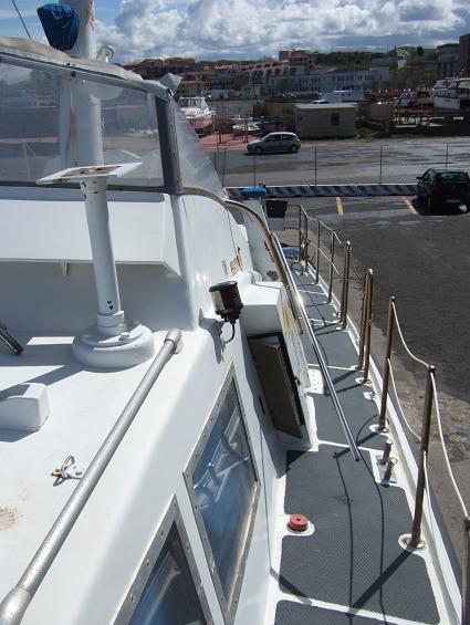 Motovedetta d'epoca Capitaneria di Porto