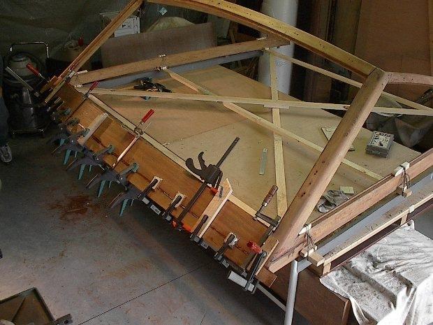 Ristrutturazione parabrezza barca d'epola Levi Synthesis