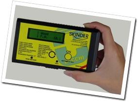 Skinder Cecchi - rilevazione dell'umidità interna del legno