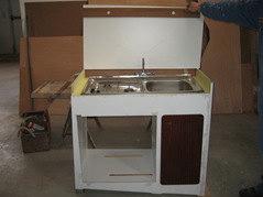 Mobiletto cucina frigo d