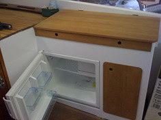 dettaglio mobile cucina frigo ultimato