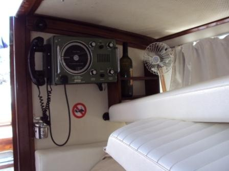 Restauro barca classica Isabella Settimo Velo Canav