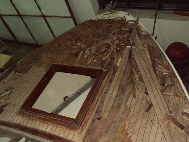 Restauro Barca Classica Levi, Settimo Velo Canav