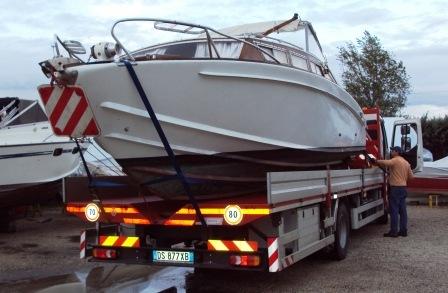 Barca Classica Settimo Velo Levi