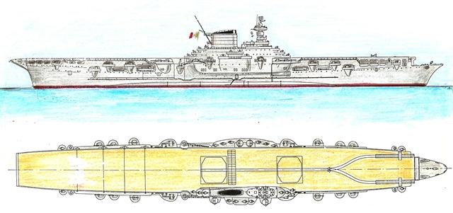 Seconda guerra mondiale regia nave aquila di franco harrauer - Nave portaerei ...