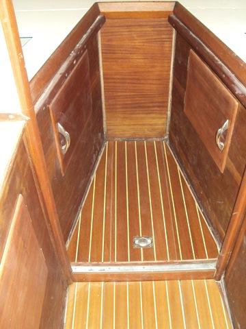 Paiolo cabina di prua