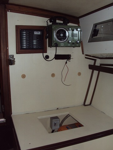 VHF e quadro elettrico generale