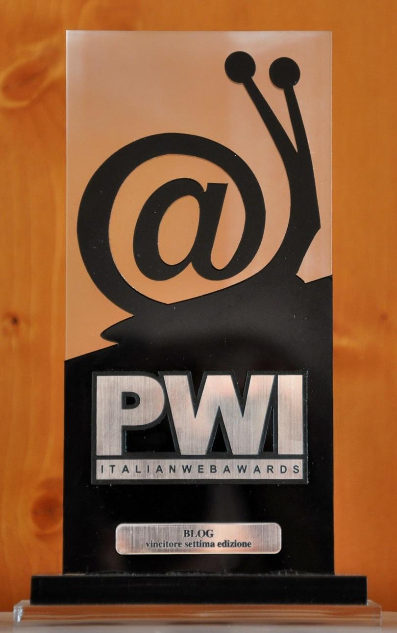 PWI Premio WEB ITALIA 2009