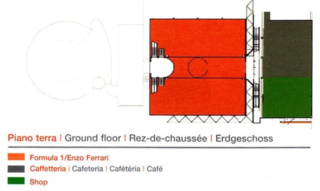 Piano terra Galleria Ferrari