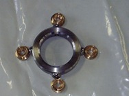 Boccole e anello di fissaggio