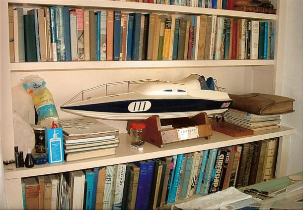 Surfuri, modellino barca d'epoca di Sonny Levi